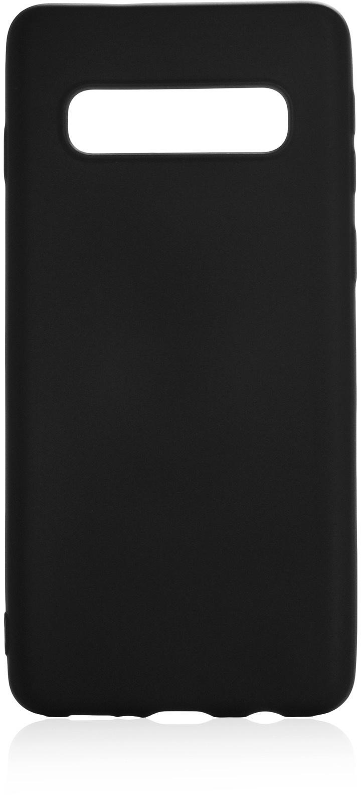 Чехол для сотового телефона Gurdini Soft touch силикон black для Samsung Galaxy S10, черный аксессуар чехол для samsung galaxy j8 2018 gurdini soft touch silicone black 907522