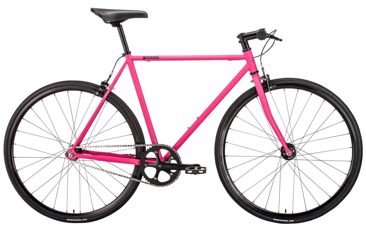 Велосипед Bear Bike Paris, розовый