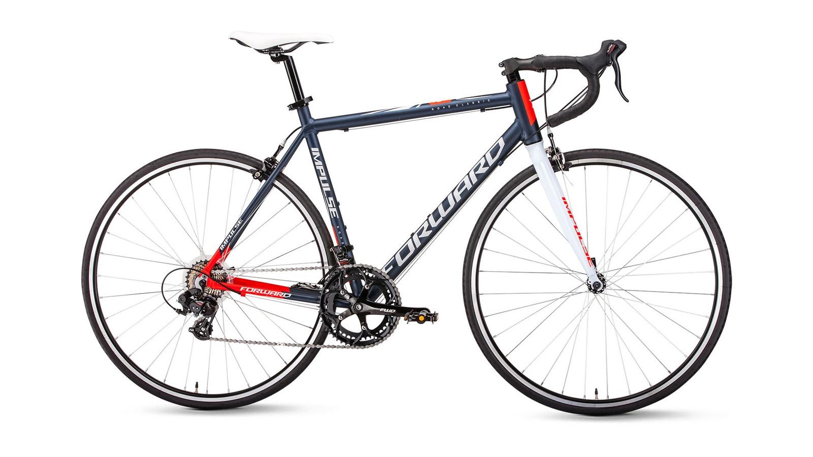 Велосипед Forward Impulse 28 480 2019, черный велосипед forward barcelona 1 0 2017