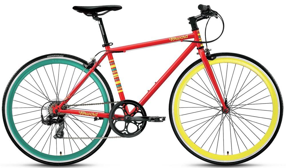 Велосипед Forward Indie Jam 28 2.0 2017, красный