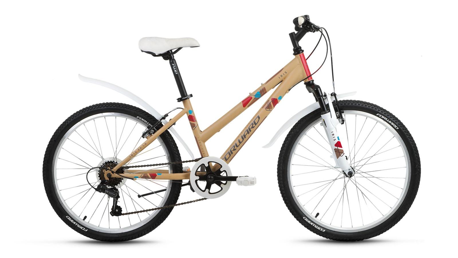 Велосипед Forward Iris 24 1.0 2019, желтый