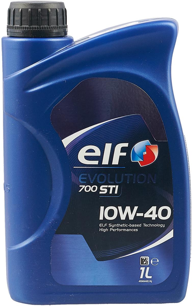 Моторное масло Elf Evolution 700 Sti 10W40 (Sn), синтетическое, 1 л цена 2017