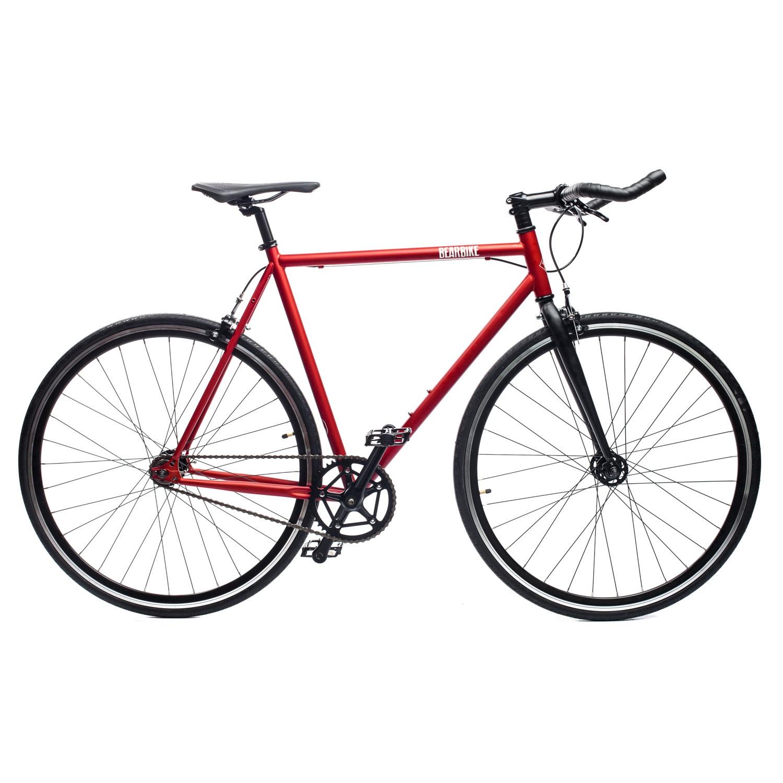 Велосипед Bear Bike Detroit 700C 540 2019, красный цена