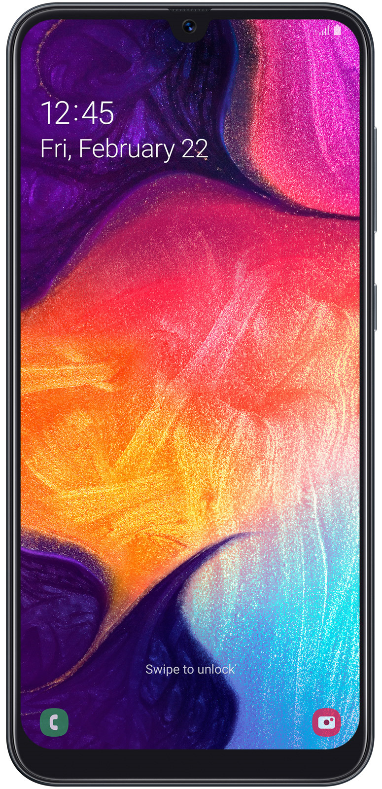Смартфон Samsung Galaxy A50 4/64GB, черный телефон samsung galaxy a50 4 64gb 2019 черный