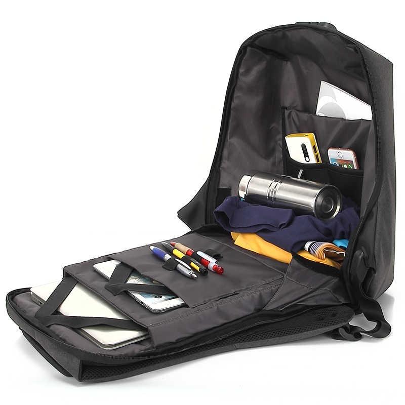 Рюкзак Kinglong Вместительный дорожный рюкзак с кодовым замком Снаружи: карман...