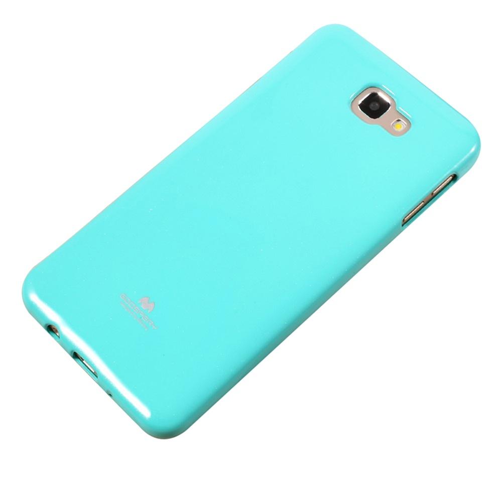 Чехол для сотового телефона Goospery Samsung J7 Prime Накладка силиконовая ламинированная пленкой MERCURY Jelly Case, бирюзовый чехол для сотового телефона samsung galaxy j7 2017 jelly pink ef aj730tpegru