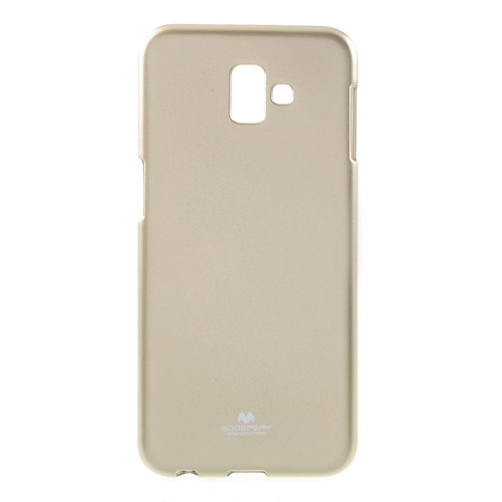 Чехол для сотового телефона Мобильная мода Samsung J6 Plus Накладка силиконовая ламинированная пленкой Jelly Case, золотой чехол для сотового телефона мобильная мода samsung grand prime g530 j2 prime накладка силиконовая jelly case