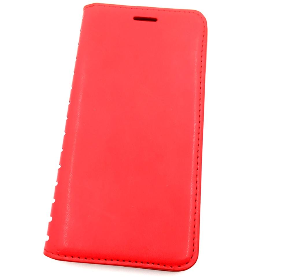 Чехол для сотового телефона Мобильная мода Samsung A7 2016 Чехол-книжка силиконовая с отделом для карт QUINS, красный