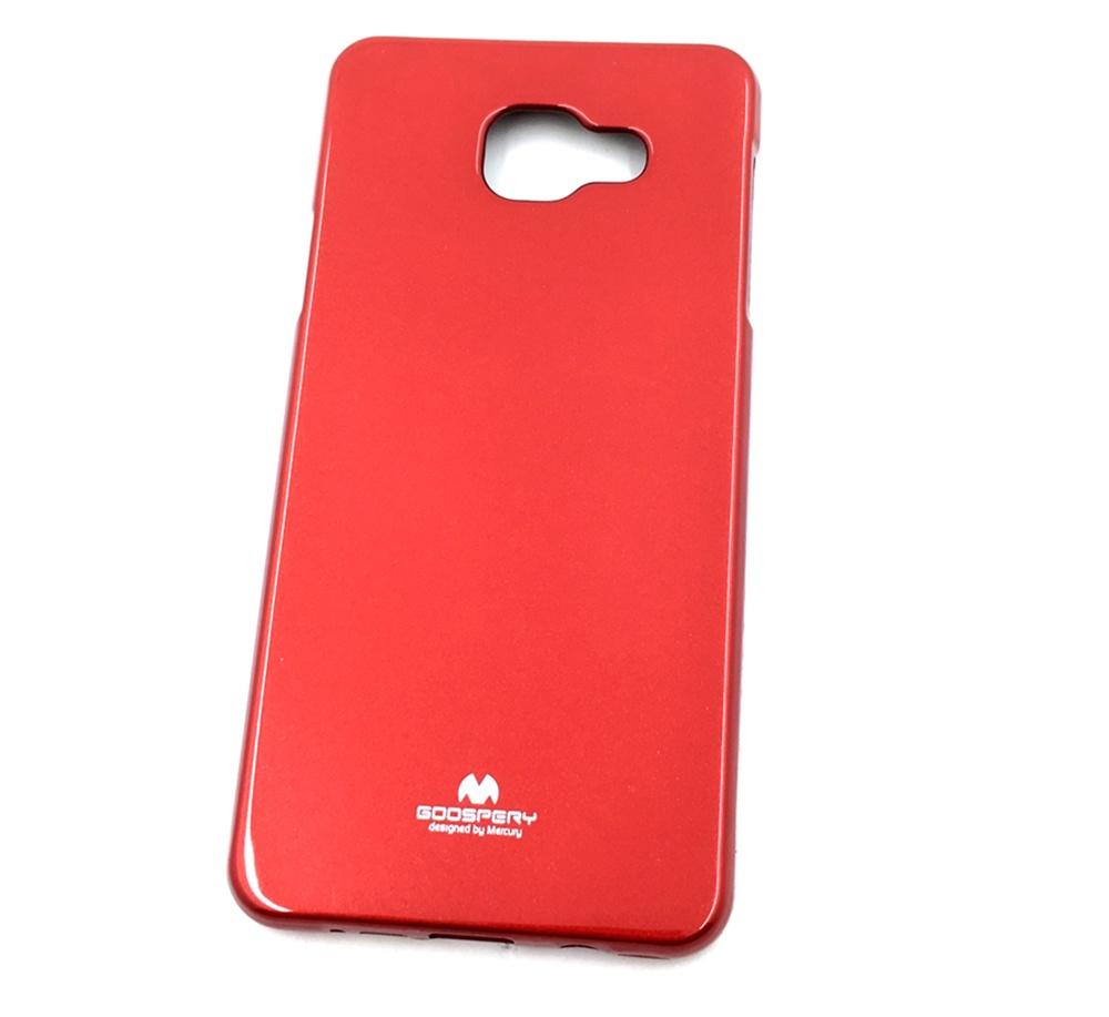 Чехол для сотового телефона Goospery Samsung A7 2016 Накладка силиконовая ламинированная пленкой Jelly Case, красный аксессуар чехол накладка samsung galaxy a5 2016 anymode jelly case transparent fa00083kcl