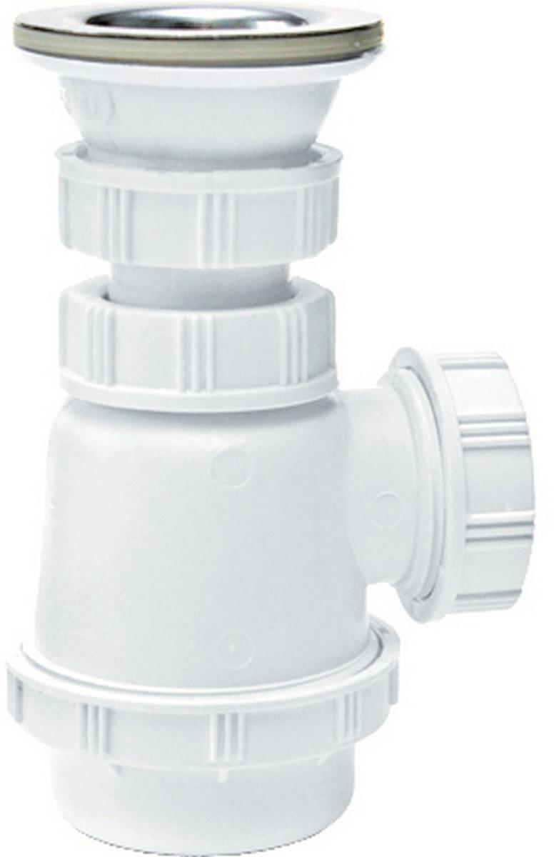 Фото - Сифон Wirquin, 30718589, для биде и раковины сифон для раковины 1 1 4 без перелива нано 67мм выход в канализацию 40 мм