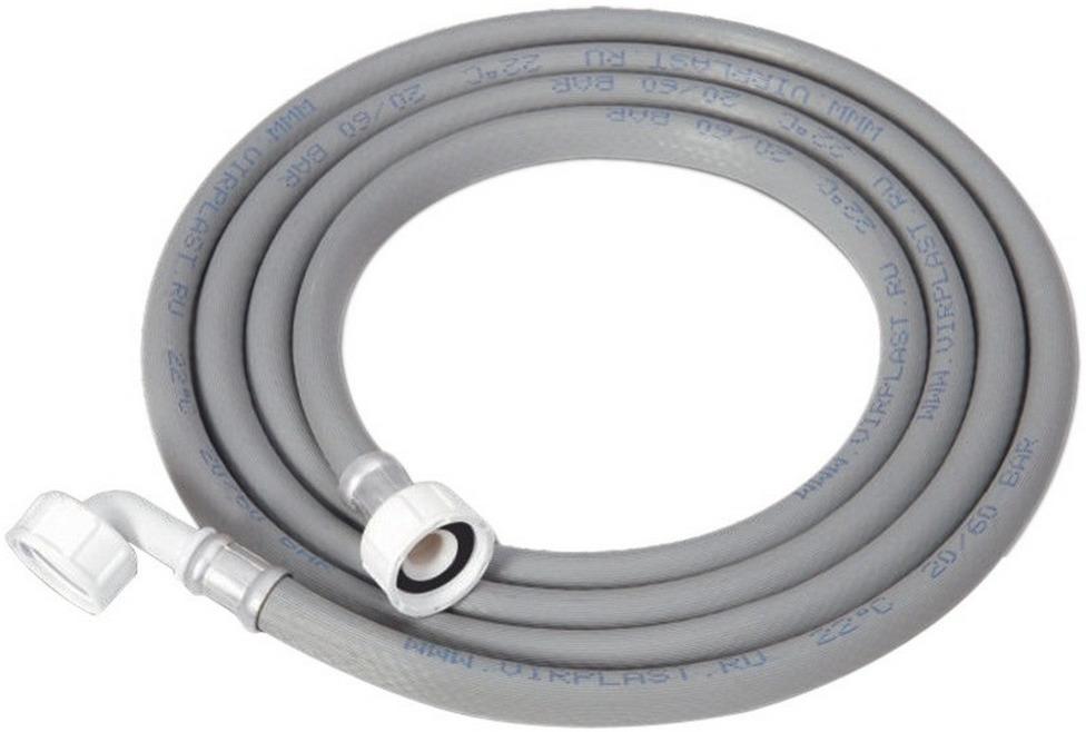 Наливной шланг Wirquin, 70980459, для стиральной машины, 5 м трос сантехнический пружинный wirquin 70980831 2 5 м