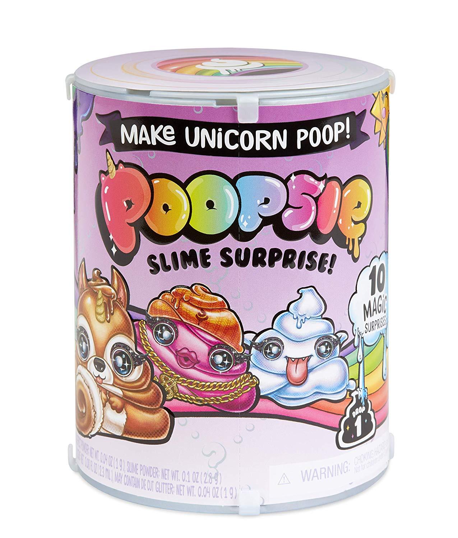 Слайм Жвачка для рук Лизун и игрушка антистресс Poopsie Slime Surprise