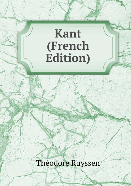 Kant (French Edition)