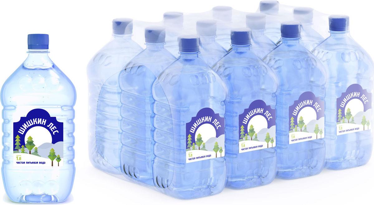 Вода питьевая Шишкин лес, 12 шт по 1 л кирилл шишкин освобождение 2