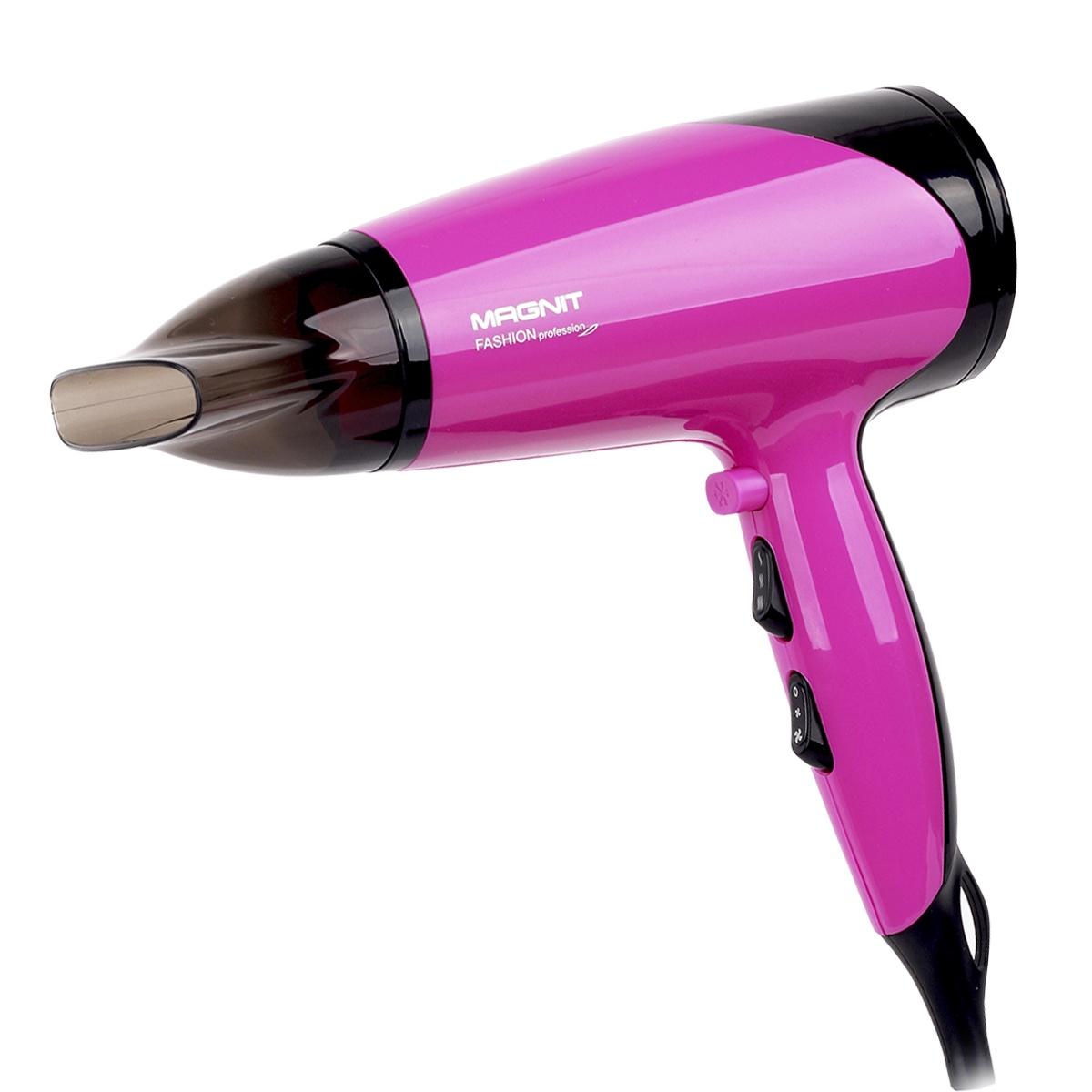 Фен для волос Magnit, 2200 Вт, насадка концентратор цена 2017