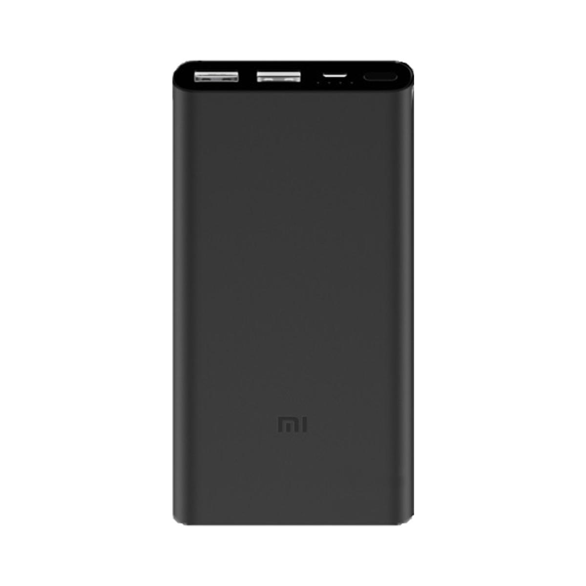 Зарядное устройство Xiaomi Power Bank 10000 мАч, черный