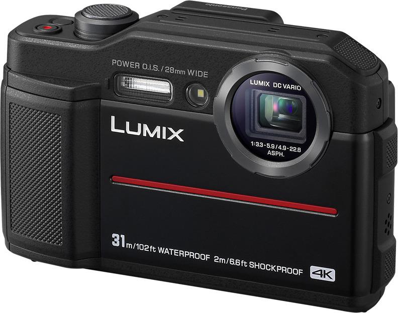 Фото - Компактный фотоаппарат Panasonic Lumix DC-FT7EE-K, черный видео