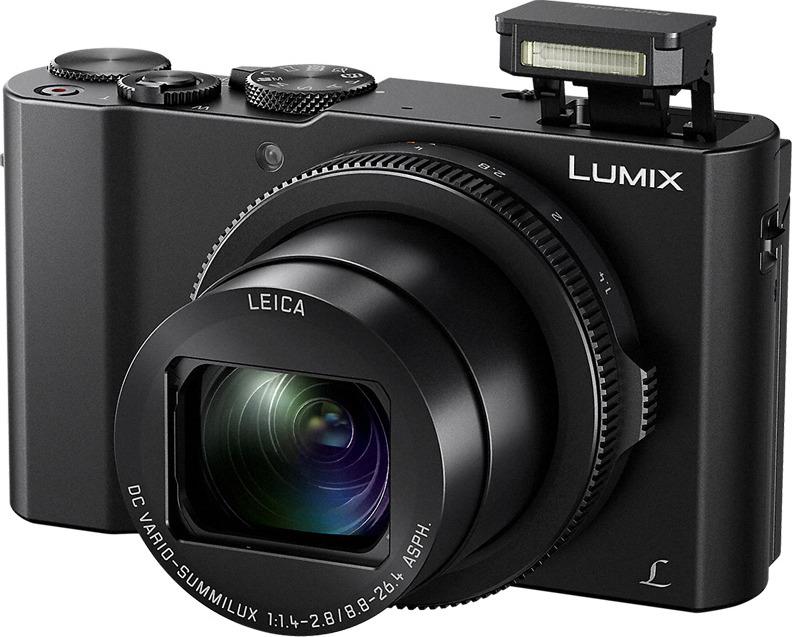 Компактный фотоаппарат Panasonic Lumix DMC-LX15, черный
