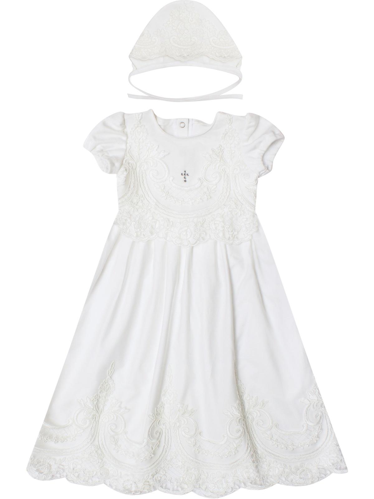 Платье Luxury Baby крестильная одежда alivia kids крестильное полотенце с крестом 130х70 12 701
