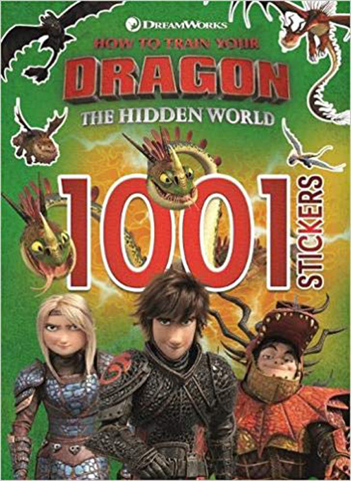Фото - How to Train Your Dragon The Hidden World: 1001 Stickers how to track a dragon