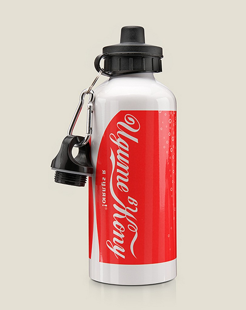 Бутылка для воды Бюро находок Я гуляю, разноцветный