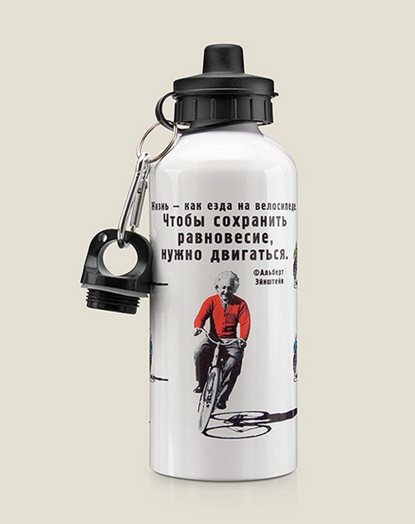 Бутылка для воды Бюро находок Эйнштейн, разноцветный
