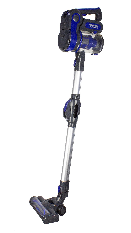 Беспроводной пылесос PROFFI Smart Stick 2-в-1 PH8816 с гибкой телескопической трубкой и электротурбощеткой, безмешковый, фиолетовый/серебристый