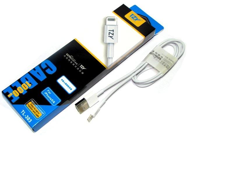 кабель TZY TL-303 iPhone Lightning 8pin все цены