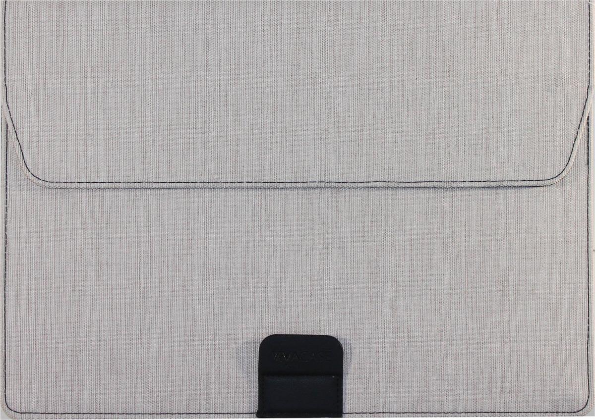 "Чехол Vivacase Jacquard для Apple MacBook Air 12""-13,3"", VCN-FBS15-w, white"