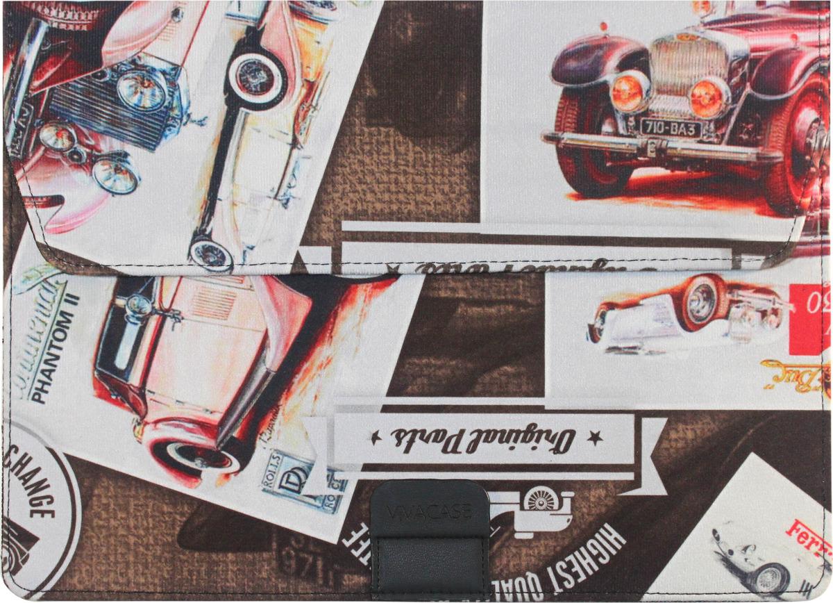 Vivacase Cars, Brown чехол для MacBook Air 12