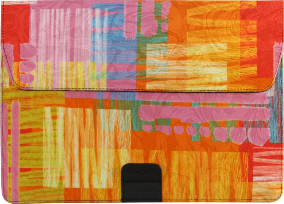 "Чехол Vivacase Harlequin для Apple MacBook Air 12""-13,3"", VCN-FHC15-or, orange"