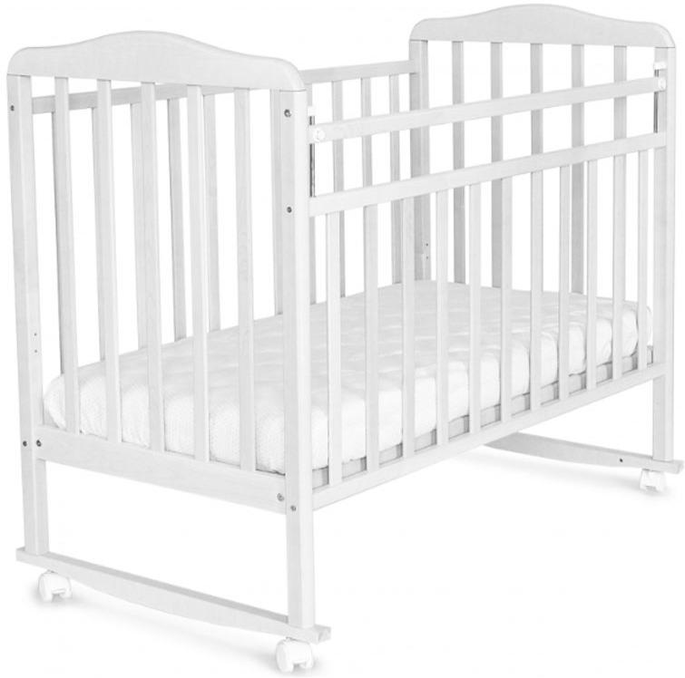 Кроватка детская Sweet Baby Mario, цвет: белый