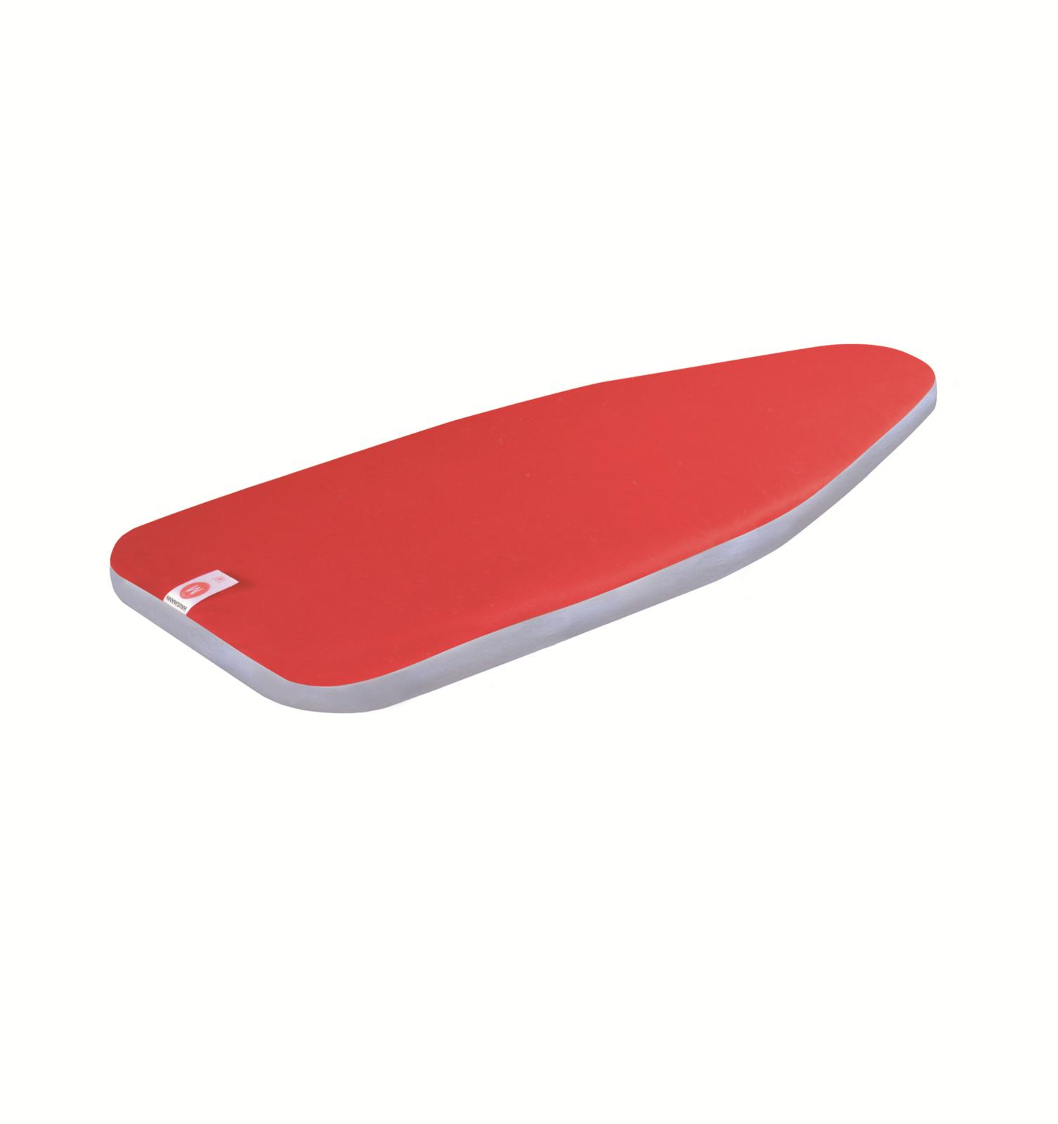 Чехол для гладильной доски Hausmann Deluxe, HM-ST111-1, красный, 125 х 40 см крючок для рейлинга primanova черный