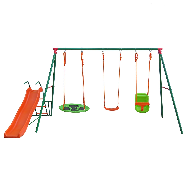 Игровой комплекс DFC SBN-03 зеленый, оранжевый