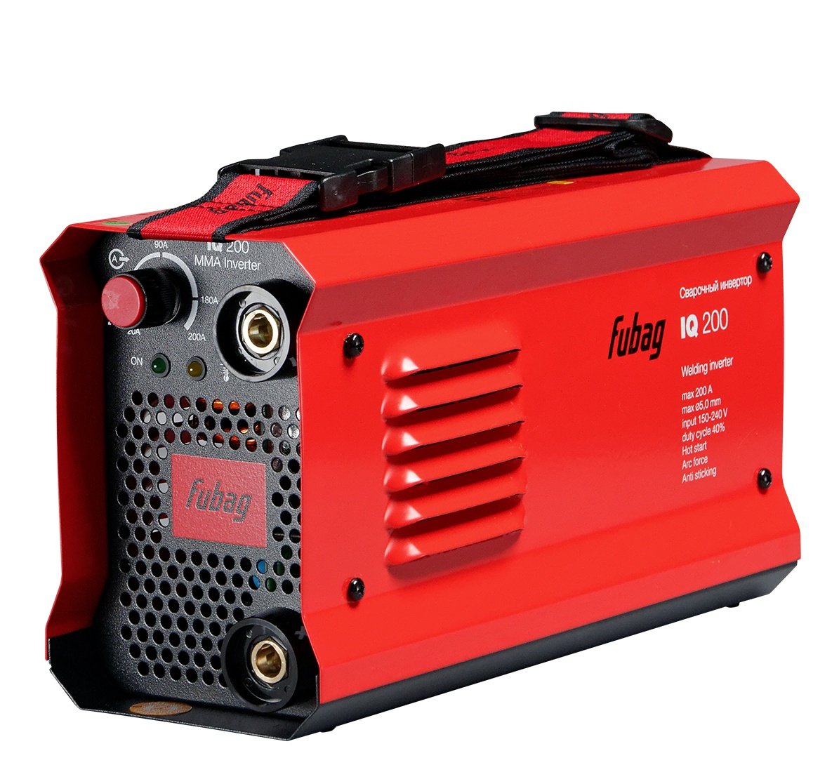 Сварочный аппарат FUBAG IQ 200, красный, черный