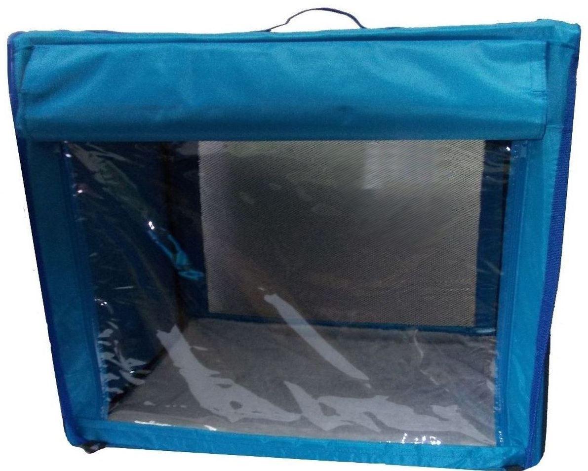 Палатка для животных Заря-Плюс КТВ2, зеленый, синий, фиолетовый, розовый, желтый