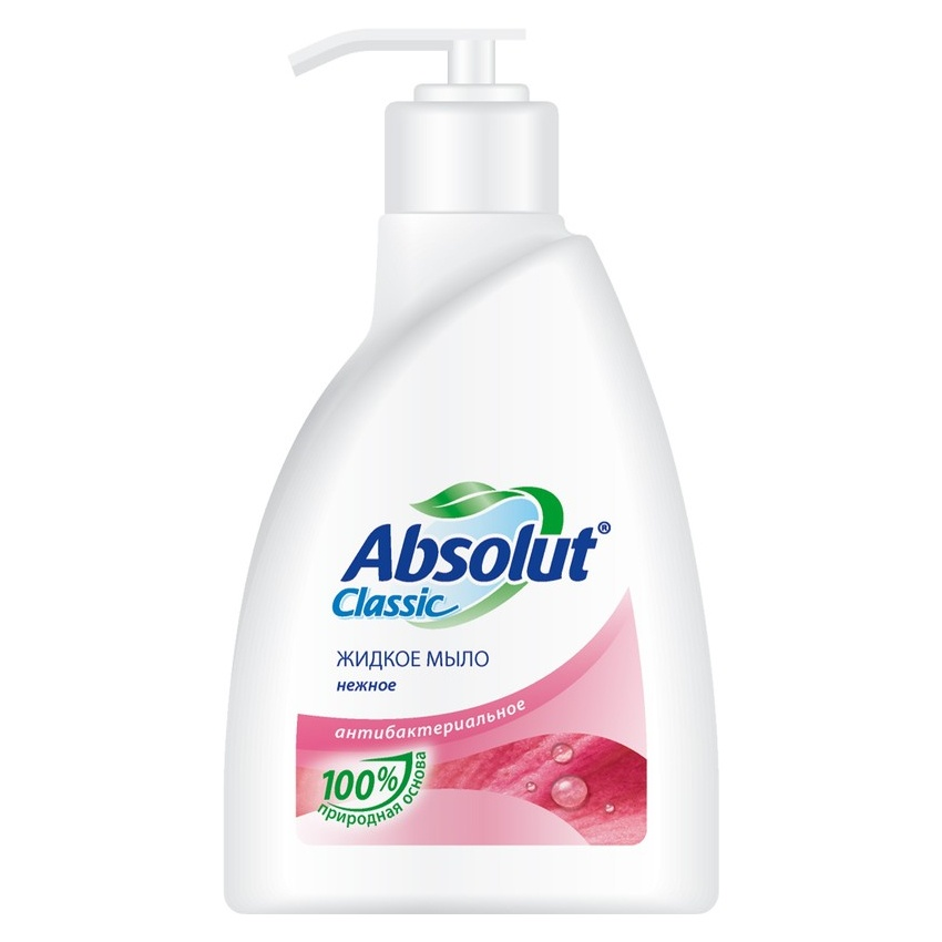 Мыло косметическое Absolut нежное 250 мл цена