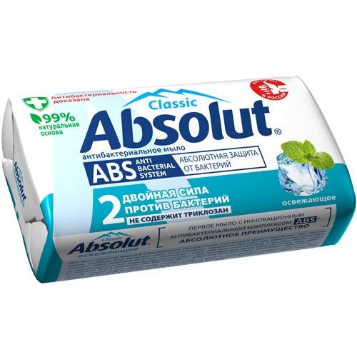 Мыло косметическое Absolut твердое освежающее цена