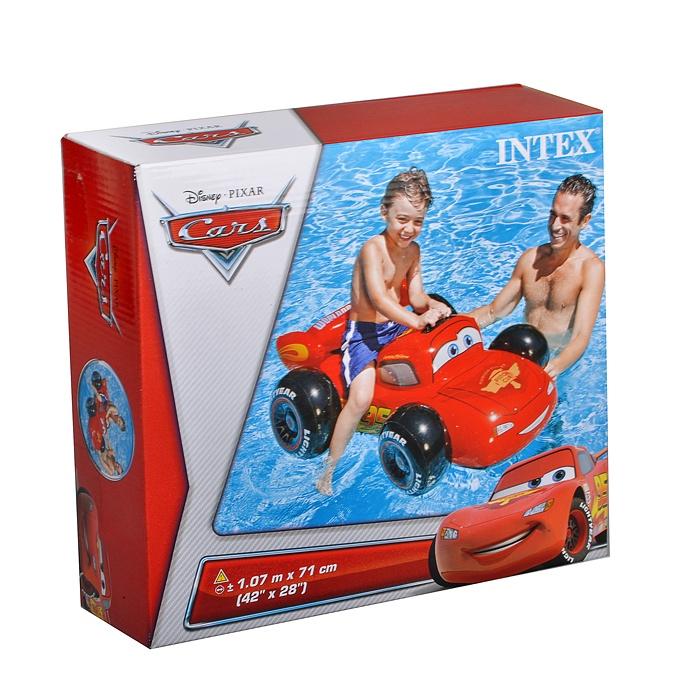 цена на Матрас надувной для плавания Intex 58576, красный