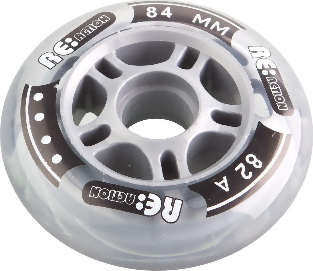 Набор колес Reaction 84/82 Wheel Set, RW84\82, черный 4 шт chain reaction