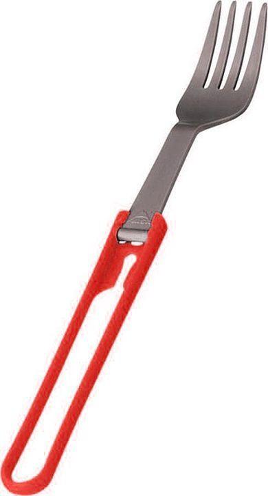 Ложка походная MSR Folding Fork, 06915, красный