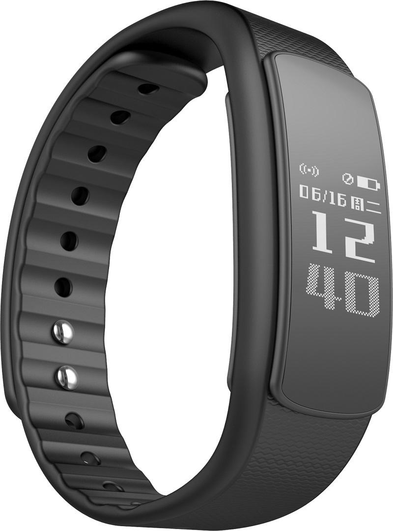 Фитнес-браслет iWOWN i6HR, черный умные часы iwown i6hr black