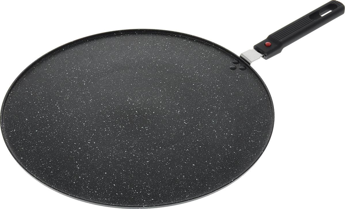 Сковорода Bekker, BK-7897, черный, диаметр 32 см сковорода 32 см bekker