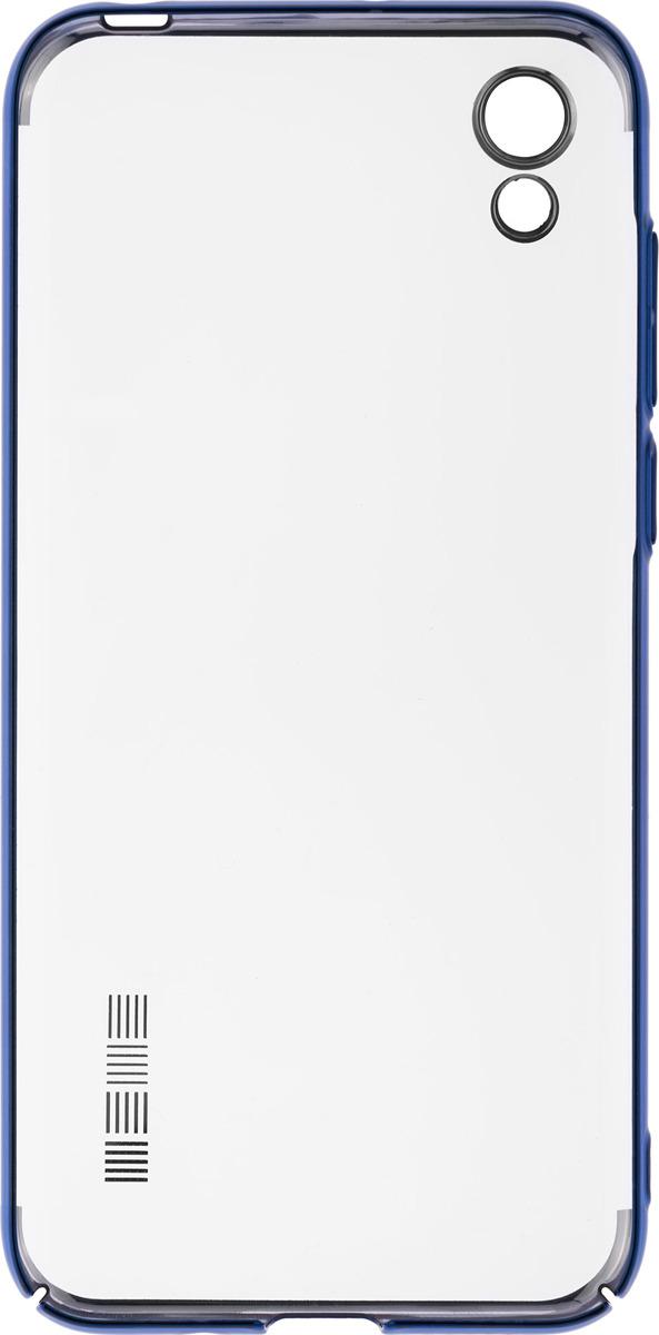 Чехол-накладка Interstep Decor для Honor 8S, синий
