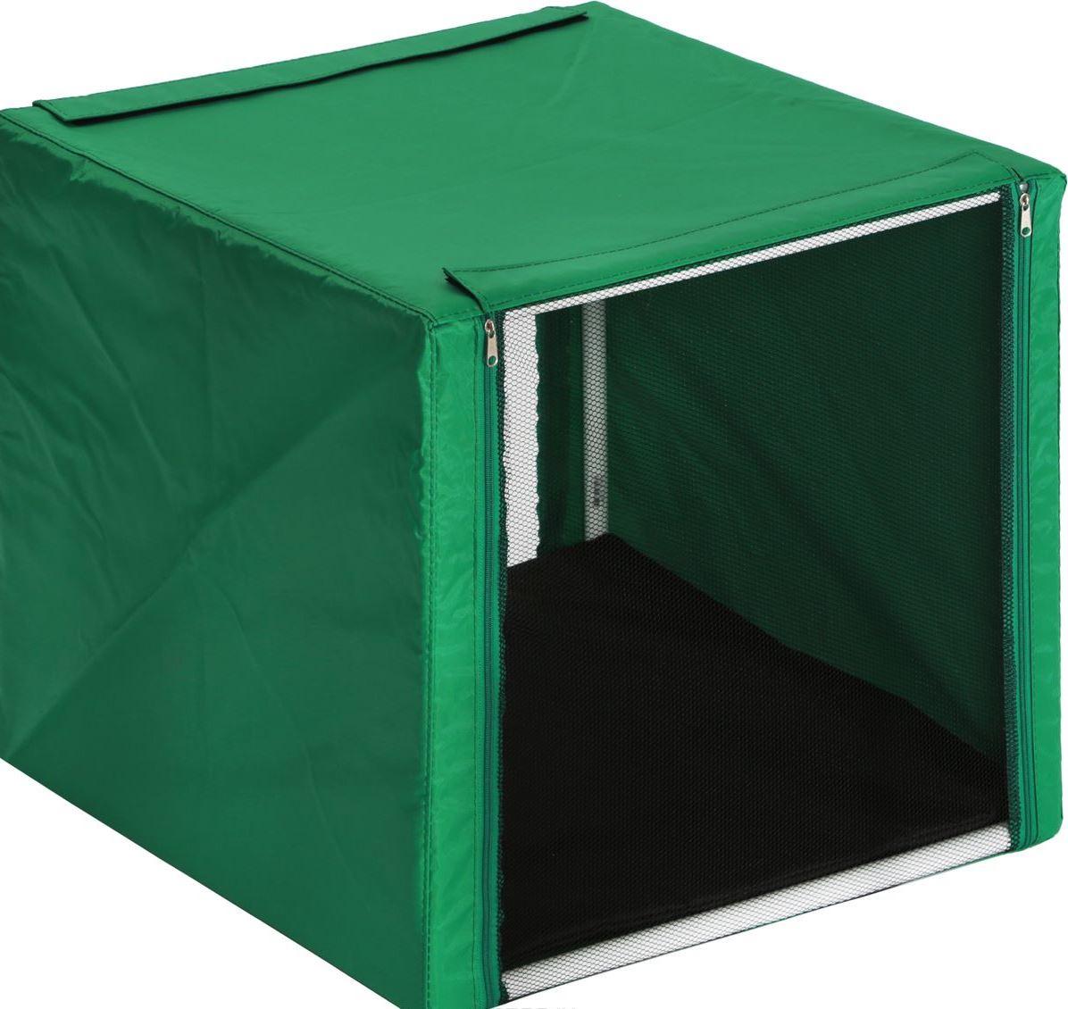 Клетка для животных Заря-Плюс.КВР0. палатка greenell виржиния 6 плюс green