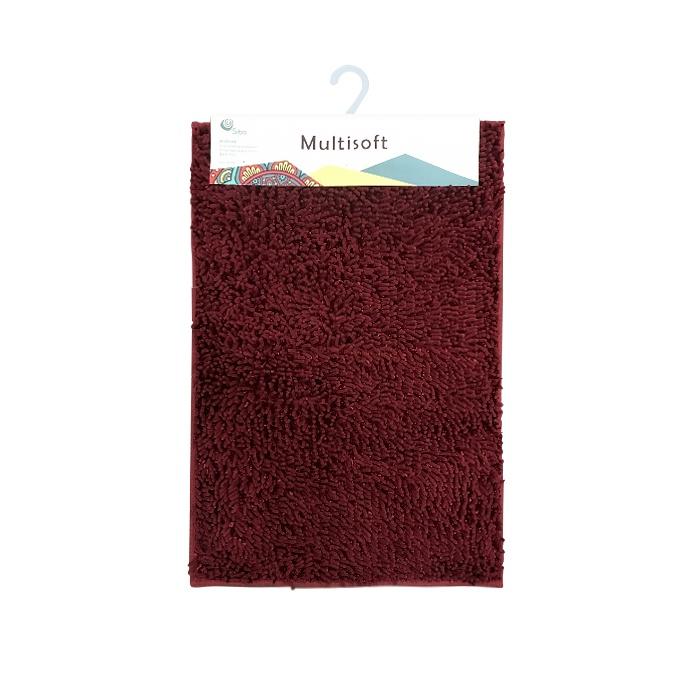 Коврик для ванной Sibo SI31019 MULTISOFT, бордовый