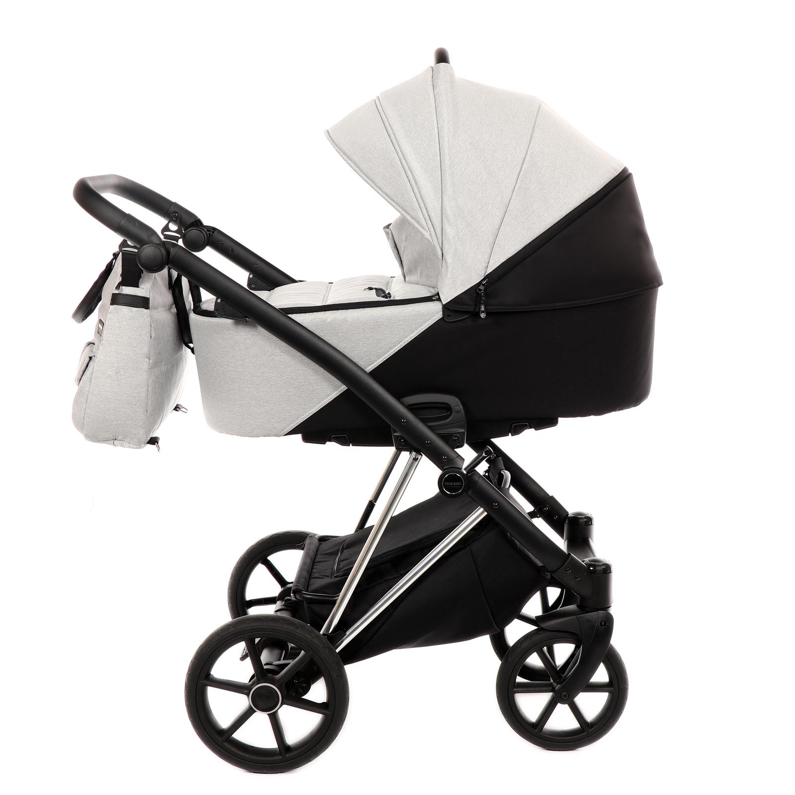 Коляска универсальная TAKO TJS-02 коляска 2 в 1 tako jumper style jumper v светло серый черный рама серебро tjs 02