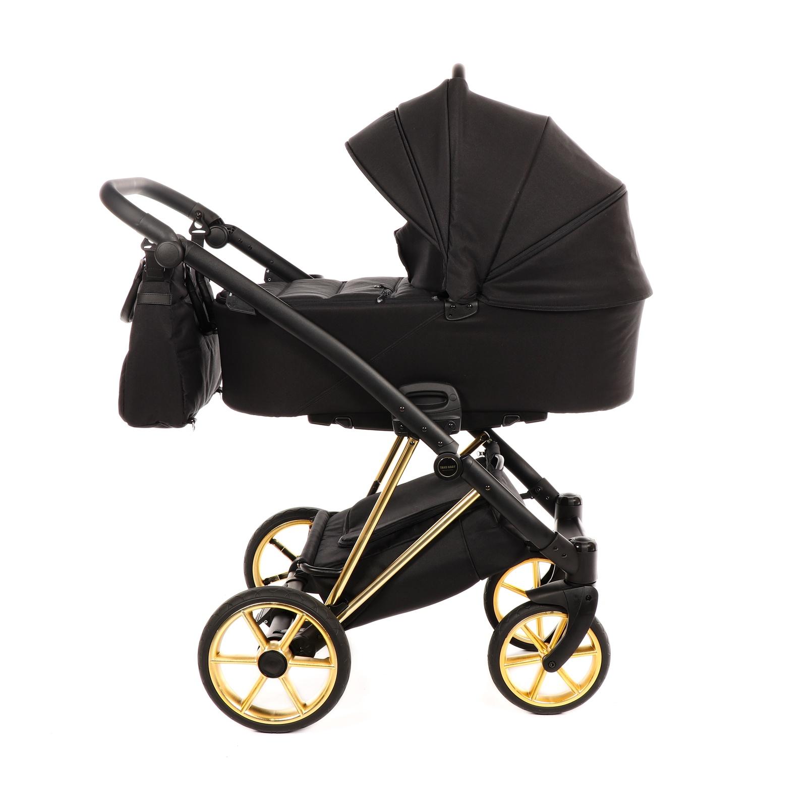 TAKO JUMPER STYLE (JUMPER-V) TJS-05 Коляска детская 2 в 1 (черный/рама золото) коляска 2 в 1 tako jumper style jumper v светло серый черный рама серебро tjs 02