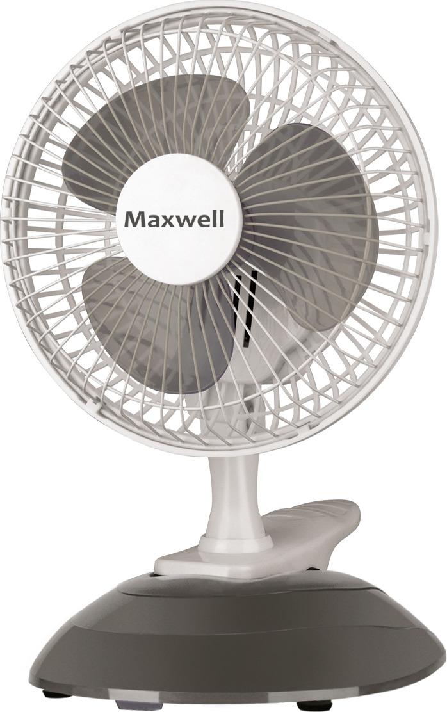 Настольный вентилятор Maxwell MW-3548(GY), серый Maxwell