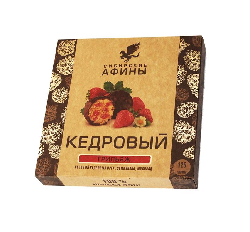 Конфеты Сибирские афины Кедровый Метеорит с земляникой, 125 гр. стоимость авиабилета москва афины